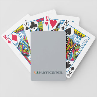 The U Hurricanes Bicycle Playing Cards