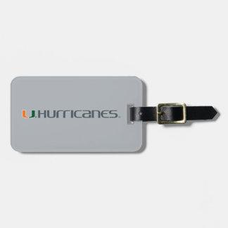 The U Hurricanes Luggage Tag