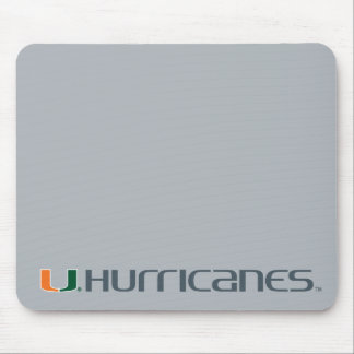 The U Hurricanes Mouse Pad