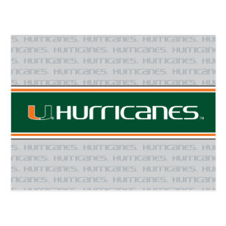 The U Hurricanes Postcard