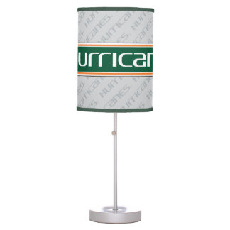 The U Hurricanes Table Lamp