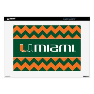 """The U Miami 15"""" Laptop Skins"""