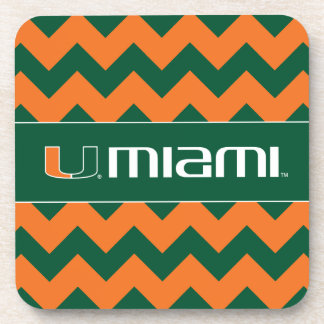 The U Miami Drink Coaster