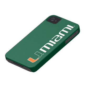 The U Miami iPhone 4 Case-Mate Case
