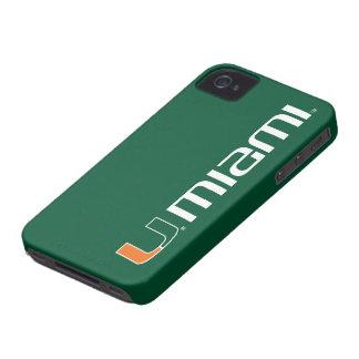 The U Miami iPhone 4 Case-Mate Case