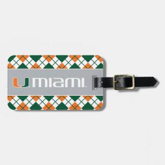 The U Miami Luggage Tag