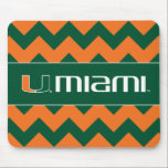 "The U Miami Mouse Pad<br><div class=""desc"">Get all of the best University of Miami gear at Zazzle.com! Support the Hurricanes in style with these products that are perfect for students, alumni, family, and fans. All of these products are customizable with your name, your sport, or your class year. Represent the U by sporting Green and Orange...</div>"