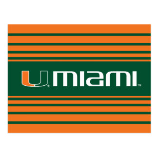 The U Miami Postcard
