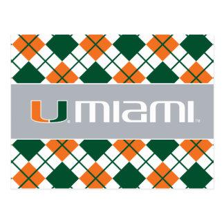 The U Miami Postcard