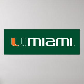 The U Miami Poster