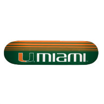 The U Miami Skateboard