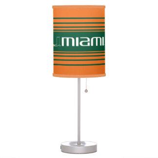 The U Miami Table Lamp