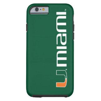 The U Miami Tough iPhone 6 Case