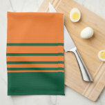 """The U Miami Towel<br><div class=""""desc"""">Get all of the best University of Miami gear at Zazzle.com! Support the Hurricanes in style with these products that are perfect for students, alumni, family, and fans. All of these products are customizable with your name, your sport, or your class year. Represent the U by sporting Green and Orange...</div>"""