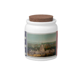 The U.S. Capitol Building Candy Jar