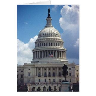 The U.S. Capitol Card