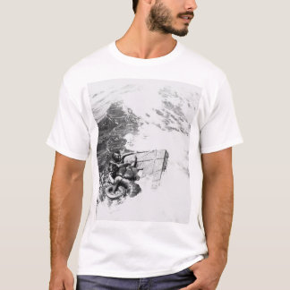 The U.S.S. Queenfish rescuing_War Image T-Shirt