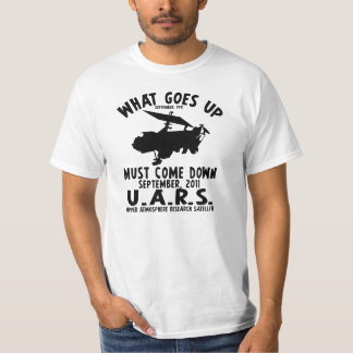 The UARS Satellite - What goes up... T-Shirt