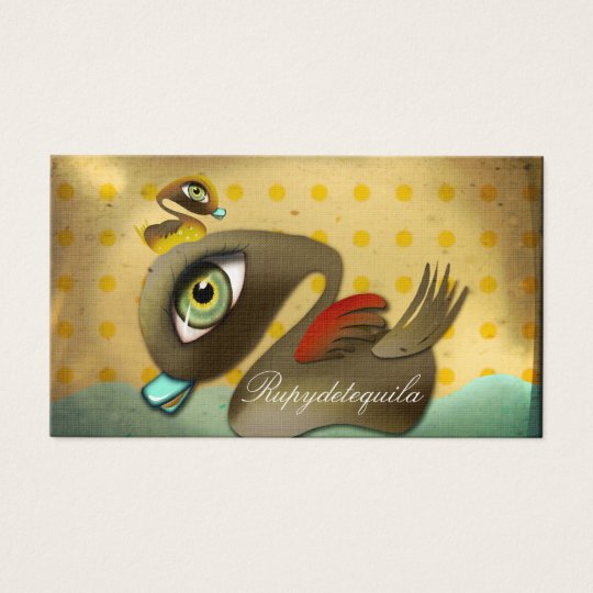 The Ugly Duck fairytale Business Card