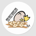 The Ugly Duckling Classic Round Sticker