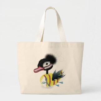 The Ugly Duckling fairytale Jumbo Tote Bag