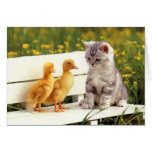 The Ugly Duckling Greeting Card