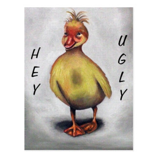 The Ugly Duckling Postcard