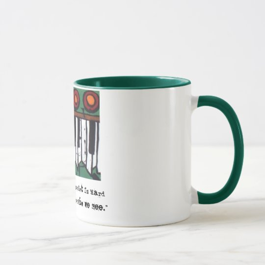 The Ugly Organ Coffee Mug (Version 3)