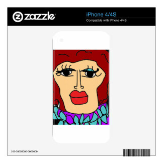 the ugly women decal for the iPhone 4S