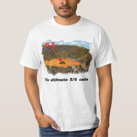 The ultimate 5/5 cache T-Shirt