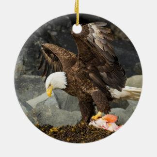 The Ultimate Bald Eagle Ceramic Ornament