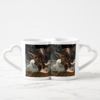 The Ultimate Bald Eagle Coffee Mug Set