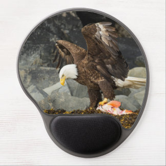 The Ultimate Bald Eagle Gel Mousepad