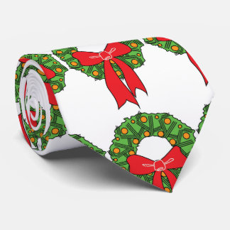 "THE ""ULTIMATE"" CHRISTMAS ""WREATH"" TIE"