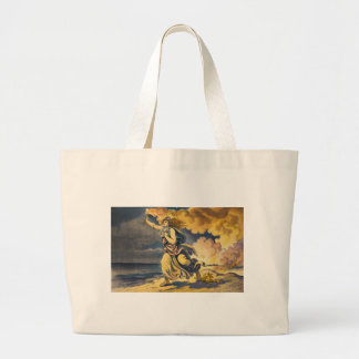 The Ultimate Consumer by Udo J. Keppler Large Tote Bag