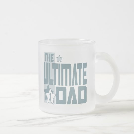 The Ultimate Dad Gear Frosted Glass Coffee Mug