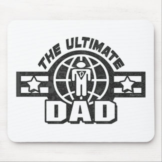 The Ultimate Dad Logo Gear Mousepads