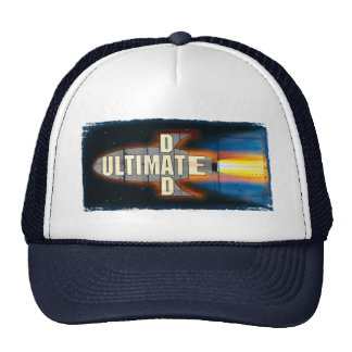 The Ultimate Dad Rocket Ship Man Trucker Hat