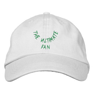 The Ultimate Fan Embroidered Baseball Cap