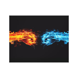 the ultimate fist canvas print
