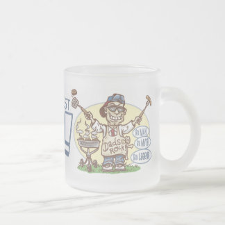 The Ultimate Grill Dad Gear Frosted Glass Coffee Mug