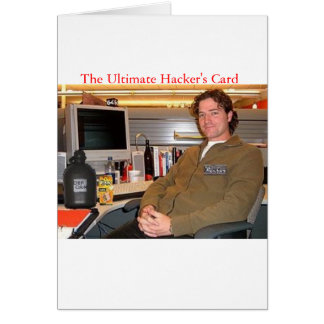 The Ultimate Hacker's Card