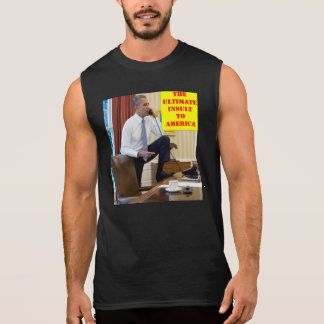 THE ULTIMATE INSULT SLEEVELESS SHIRT