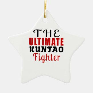 THE ULTIMATE KUNTAO FIGHTER CERAMIC ORNAMENT