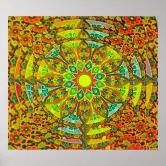 The Ultimate Mandala Poster, small Poster