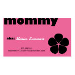 The Ultimate Mommy Card 2 Business Card Template
