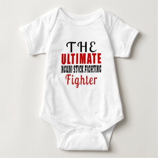 THE ULTIMATE NGUNI STICK FIGHTING FIGHTER BABY BODYSUIT