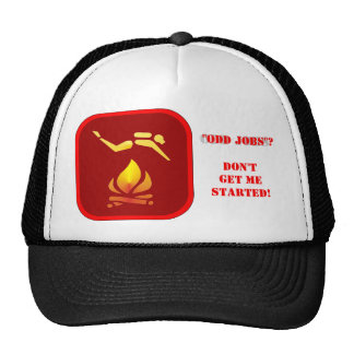The Ultimate ODD JOBS Hat. Trucker Hat