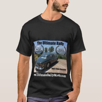 The Ultimate Rally movie Jeep Volvo Amazon shirt