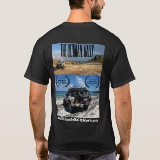 The Ultimate Rally movie official race shirt